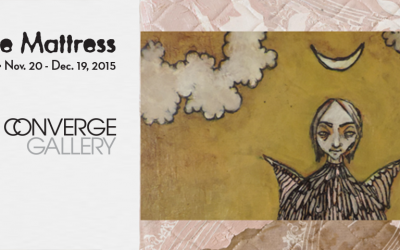 "Converge Gallery presents an interesting pairing of two local artists: Anna Kell & Liz Parrish as they explore what is ""Beneath the Mattress"""