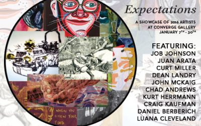 """Expectations"" is set to launch an exciting year of artwork and more at Converge Gallery"