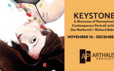 Arthaus Projects Presents Keystone a group exhibition examining portraiture through two Pennsylvania artists  Dan Berberich + Richard Babusci