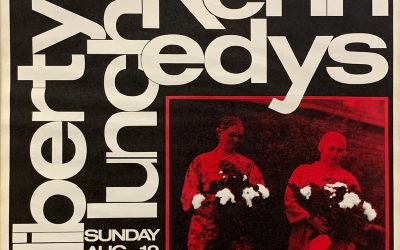 Gig poster chats w/ Nels Jacobson: Dead Kennedys with B.G.K., Cause for Alarm, and the Offenders