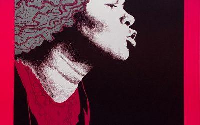 Gig poster chats w/ Nels Jacobson: Etta James, Austin Opera House, Austin, TX.