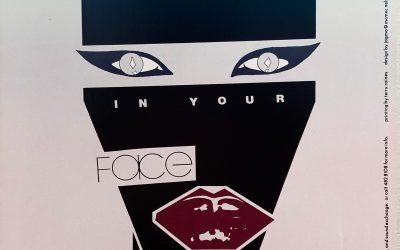 Gig poster chats w/ Nels Jacobson: Grace Jones, Coliseum, Austin, TX.