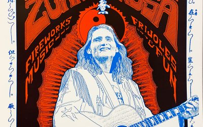 Gig poster chats w/ Nels Jacobson: Jimmie Dale Gilmore, Zona Rosa, Austin, TX.