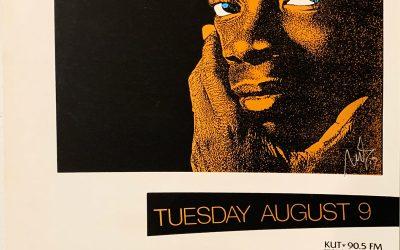 Gig poster chats w/ Nels Jacobson: Milton Nascimento, Austin Opera House, Austin, TX