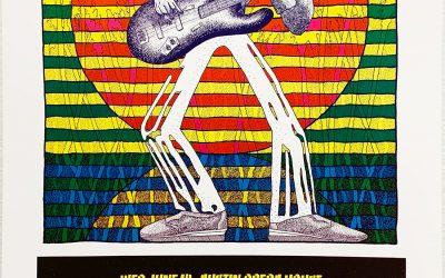 Gig poster chats w/ Nels Jacobson: Reggae Sunsplash, Austin Opera House, Austin, TX.
