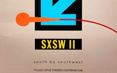 Gig poster chats w/ Nels Jacobson: The second South by Southwest, various venues, Austin, TX