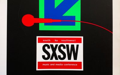 Gig poster chats w/ Nels Jacobson: South by Southwest, various venues, Austin, TX.