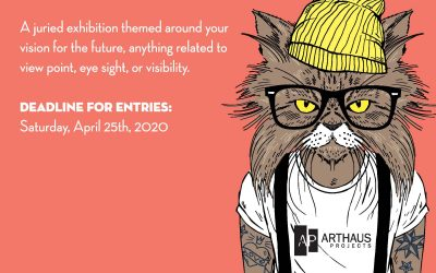 CALL FOR ARTISTS: Submit your work to 2020 Vision!